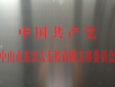 中国共产党中山市东区大东裕商圈支部委员会